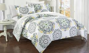 88 off on reversible duvet cover set groupon goods