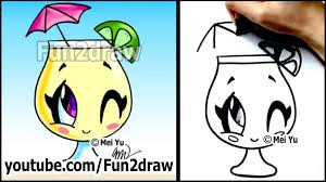 cartoon alcohol jug cartoon drawing lessons how to draw a summer drink lemonade