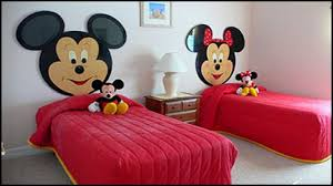 cheap bedroom decorating ideas mickey and minnie mouse wallpaper
