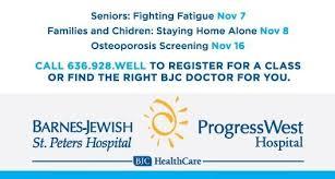Barnes Jewish Hospital Emergency Room Phone Number Barnes Jewish St Peters And Progress West Home Facebook