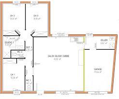 plan maison 5 chambres gratuit plan maison 5 chambres plain pied gratuit plan de maison