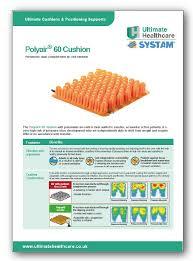 Cushion Construction Ultimate Healthcare Polyair 60 U0026 100 Cushions