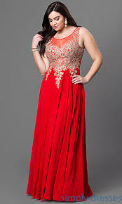 plus size formal prom dress with illusion back