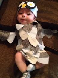 Baby Halloween Costumes Owl by Asher U0027s Homemade Costume Babycenter