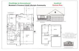 pineridge in gravenhurst home plans