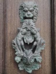 Cool Door Knockers Azazel Brass Door Knocker Old Saying The Devil U0027s In The Details