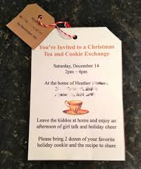 christmas cookie party invitations live inside my bubble christmas advent calendar day 14 host a
