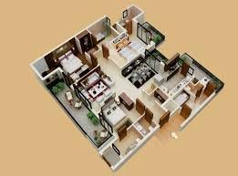3 bhk home design plan