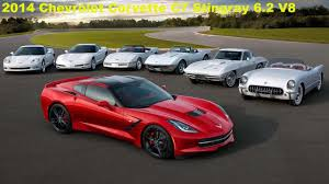 corvette stingray 1953 chevrolet corvette evolution 1953 2014