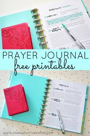 journaling templates free prayer journal free printables sparkles of sunshine organize your prayer life with these monthly prayer journal free printables from sparkles of sunshine