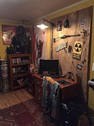 my fallout themed office fallout game rooms and room