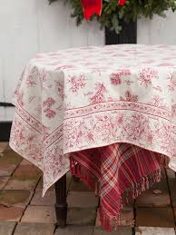 decoration fascinating emboidered table cover glistening holly