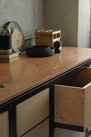 frama copenhagen studio kitchen steel frame and marbles