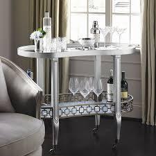 caracole dean martini bar cart candelabra inc