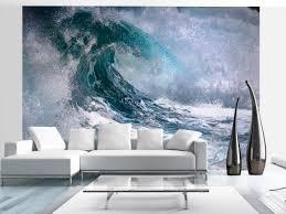 tappezzerie moderne carta da parati decorativa sull onda mare paesaggi carte da