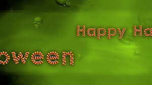 halloween background png happy halloween background green candy corn and skulls looping
