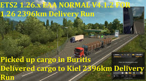 Normal Hn ets2 1 26 x eaa normal v4 1 2 for 1 26 2396km delivery run