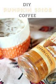 easy and fast starbucks diy pumpkin spice ice coffee