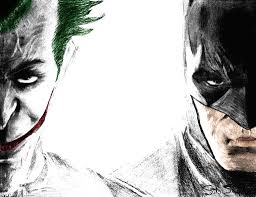 batman joker pencil sketches batman joker sketch drawing art ideas