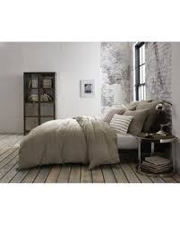 amazing deal kenneth cole mineral yarn dyed full queen duvet