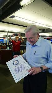 abc13 anchor dave ward makes it into guinness book of world