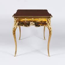 bureau stylé a bureau plat in the vernis martin style c 1880