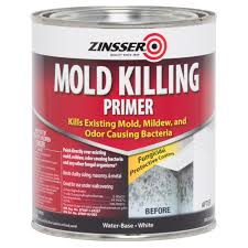 zinsser interior exterior 1qt mold killing primer 276087