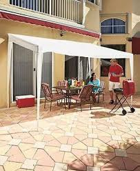 Gazebo With Awning Pop Up Canopy Tent Outdoor Shade Portable Awning Gazebo Backyard