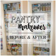 Pnatry Organized Pantry Before And After Joyfully Prudent