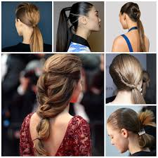 runway inspired ponytail hairstyles haircuts try for 2017