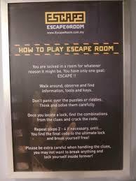 lizz chloe u0027s official blog how smart are you escape room