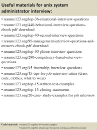 Sample Resume For Network Administrator by Download Unix System Administration Sample Resume