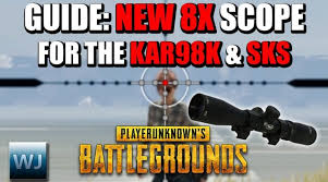pubg 8x scope epicamazing guide how to use the new 8x scope for the kar98k
