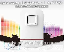 wireless doorbell system with light indicator led flash light wireless doorbell for the deaf person buy doorbell