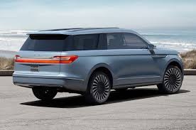 performance lexus of lincoln lincoln navigator concept shows company u0027s bold new future