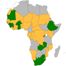 Where Is Africa On The Map by African Charter On Democracy Elections And Governance Legal