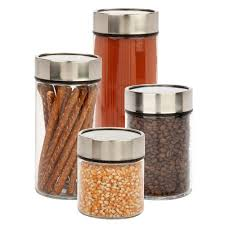 honey can do 4 piece 1350 ml 1850 ml 2350 ml and 3000 ml glass