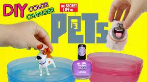 d i y secret life of pets color change mood nail polish easy do