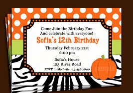 free printable halloween birthday party invitations cimvitation