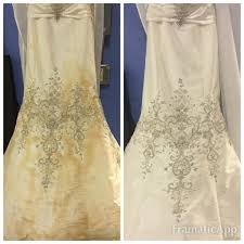 cleaning wedding dress soft contents restoration cleaning with gadue s cleaning