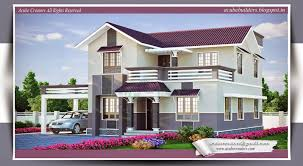 home design new beautiful house design custom kerala home design elevation1