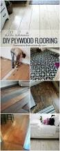 Diy Laminate Flooring Remodelaholic Diy Plywood Flooring Pros And Cons Tips