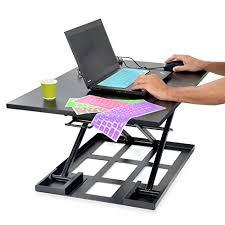 stand up desk riser height adjustable 32