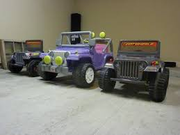 power wheels jeep barbie modified power wheels blitz wheels jeep pictorial u0026 specs