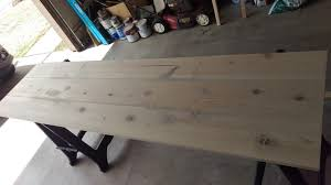 Making A Wood Desktop by How To Make A Wooden Countertop For Your Bathroom Splendry