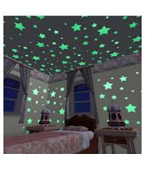 radium ceiling stickers sticker creations glowing imaginations green radium stickers for wall online india