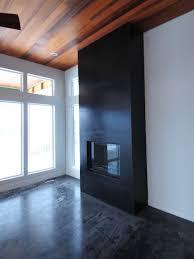 concrete fireplace surrounds u0026 large format tiles