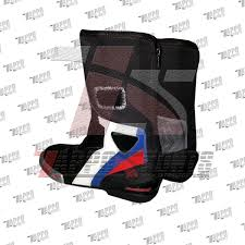 motorcycle racing boots stiefel double r boot bmw leather racing boot