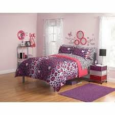 Purple U0026 Pink Teen Bedding by Twin Girls Teen Blue Purple Green Fun Leopard Animal Print