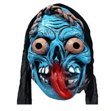 scary masks masquerade party teaser mask horror scary mask
